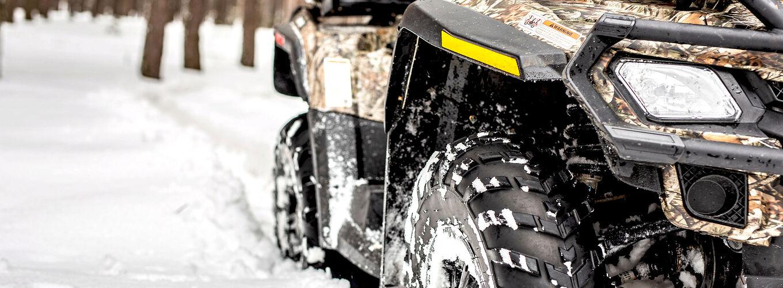 Förbered din ATV inför vintern