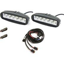 2st VIK LIGHT 0218D 40W / 3400 Lumen Med Kablage