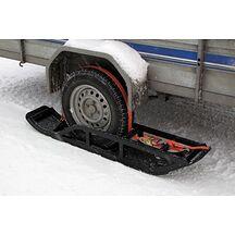 Släpvagns Skidor För Enkelaxlad Kärra (1 Par)