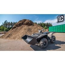 ATV Skopa 128cm Iron baltic Komplett (Plog + Skopa)