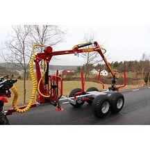 Kranman T1650 Vagn Med Kran