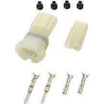 Kontaktdon Komplett Vattentålig 2-polig