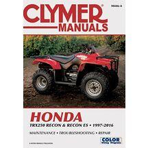 Clymer Verkstadsbok Honda TRX 250 97-16
