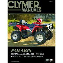 Clymer Verkstadsbok Polaris 400/450/500 96-13