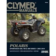 Clymer Verkstadsbok Polaris Sportsman 600, 700 & 800 2002-2010