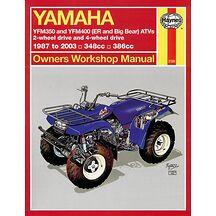 Haynes Verkstadsbok Yamaha ATV