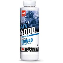 Ipone Atv Olja 4000 10W40 Delsyntetisk 1L