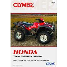 Clymer Verkstadsbok Honda TRX 500