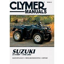 Clymer Verkstadsbok Suzuki LT-F500F