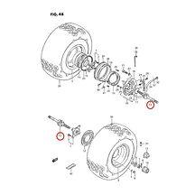 Yttre Drivknut/Drivaxel Bak Hö/Vä Suzuki LT-F4WD /LT-F250/300