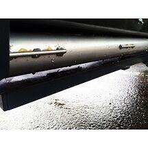 Gummiläpp 110x1004x4,0 mm SBR Sandspridare