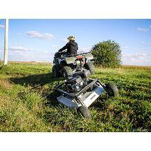 KUNZ ATV Rough Cut MR44 Gräsklippare 112cm med El-Start