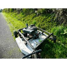 KUNZ ATV Rough Cut MR55 Gräsklippare 145cm med El-Lyft & El-Start