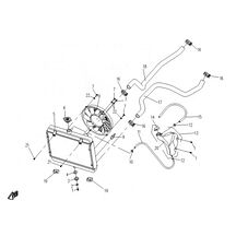 Kylare CF Moto  450/520/500/550/X7