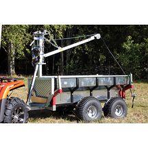 ATV Multivagn 1500 med Kran och Elvinsch