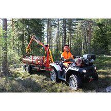 Kranman T1900ex 4WD Vagn Med Kran