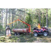 Kranman T1710 4WD Vagn Med Kran