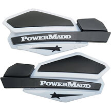 Powermadd Star Series Handskydd Vit / Svart