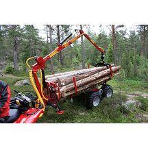 Kranman T1750 4WD Vagn Med Kran