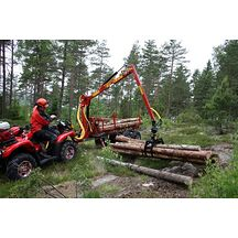 Kranman T1750 4WD Vagn Med Kran Gallringspaket 1