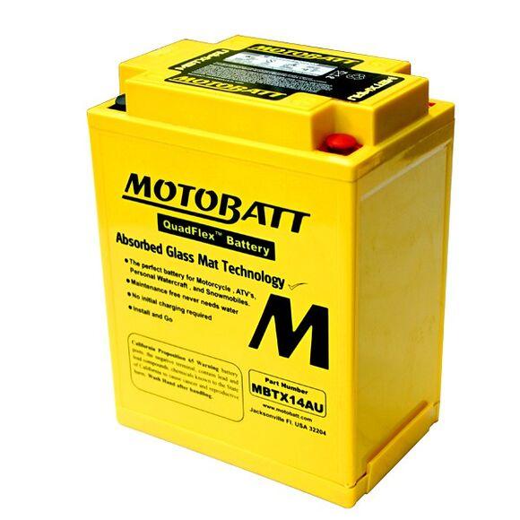 MOTOBATT Motobatt MBTX14AU (YTX/YB14)