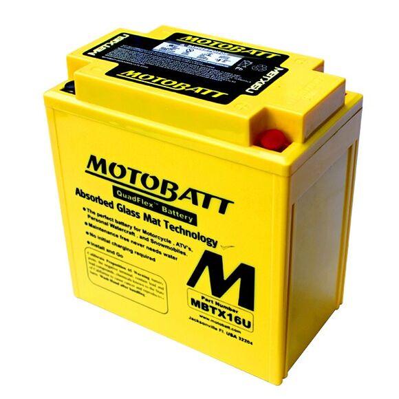 MOTOBATT Motobatt MBTX16U (YTX16-20)