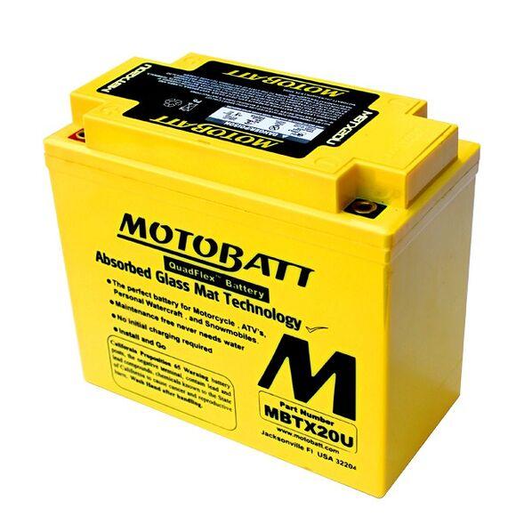 MOTOBATT Motobatt MBTX20U (YTX20)