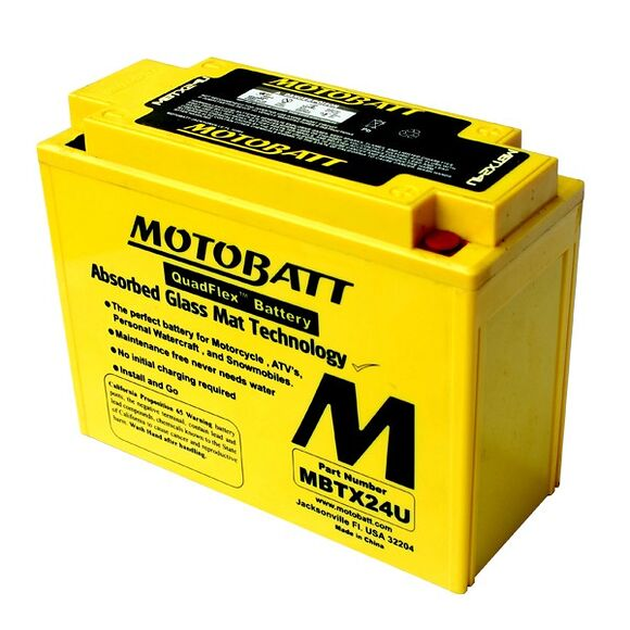 MOTOBATT Motobatt MBTX24U (YTX24)