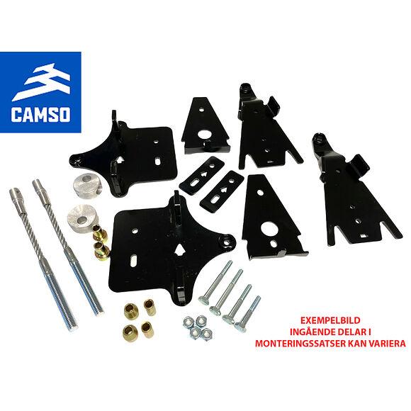 CAMSO Camso/TJD Monteringssats Bandsats ATV Polaris Sportsman 850-1000 Svängd A-Arm