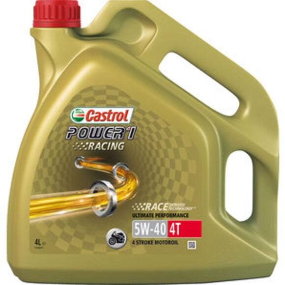 CASTROL Castrol Power 1 Racing 4T 5W-40 Helsyntet 4L