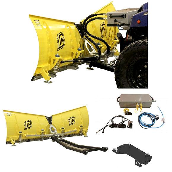 IB IB ATV/UTV Hydraulisk Vik-Plog Centermonterad - Bygg Ditt Eget Paket