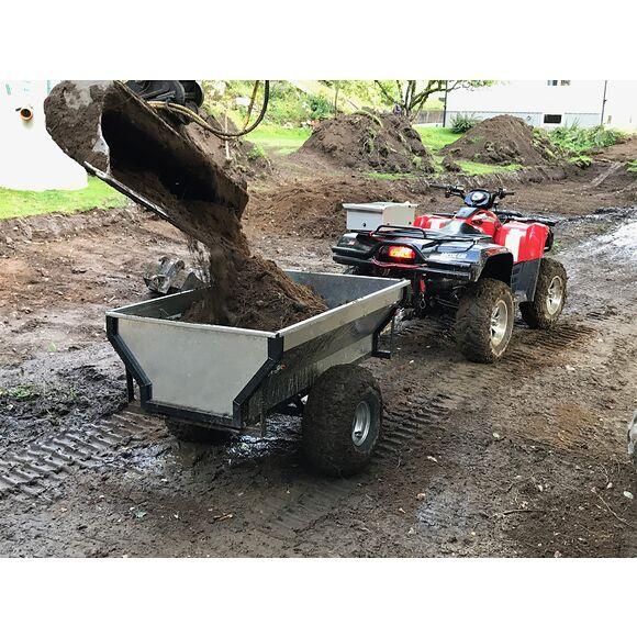 BRONCO ATV Gårdsvagn 800 Bronco