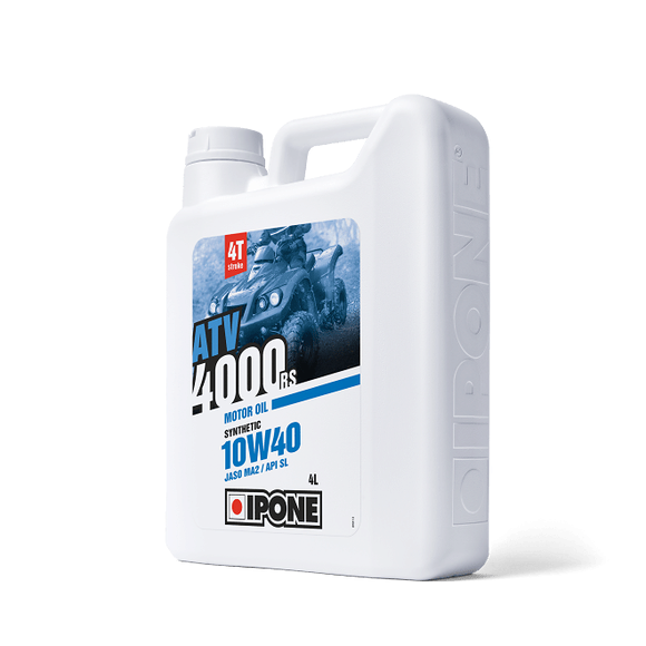 IPONE Ipone Atv Olja 4000 10W-40 Delsyntetisk 4L