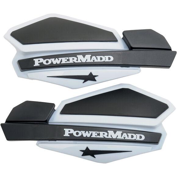 POWERMADD Powermadd Star Series Handskydd Vit / Svart